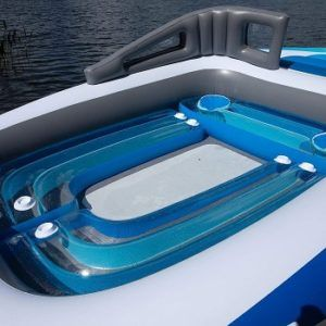 6-Person Inflatable Bay Breeze Boat Party Island review