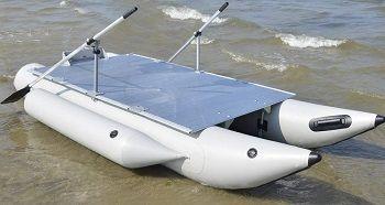 Aquos Inflatable Pontoon Boat