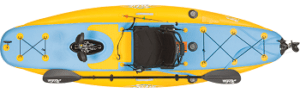 Hobie Mirageinflatable single kayaki11s review