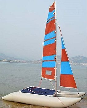 Generic Inflatable 1.2mm 4 Person Portable Sailboat review