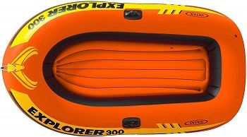 Intex Explorer 300, 3-Person Inflatable Boat Set review