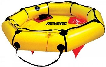 Revere Coastal Compact 4 With Canopy Life Raft review