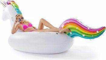Jasonwell Giant Inflatable Unicorn Pool Float review